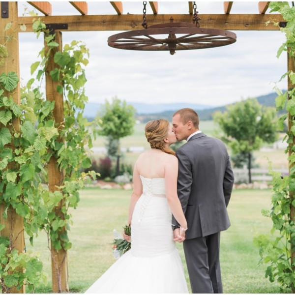 Dotson Wedding - The Barn on Wild Rose Prairie