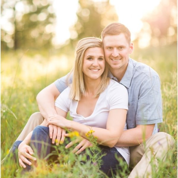 Jenna + Nick - Spokane Summer Engagement