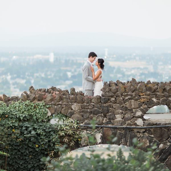 Hesseltine Wedding - Arbor Crest Wine Cellars Spokane