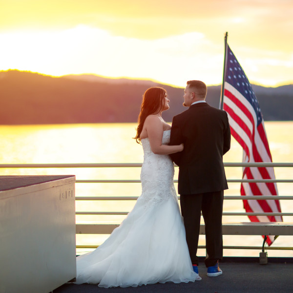 Coeur d'Alene Resort Cruise Wedding
