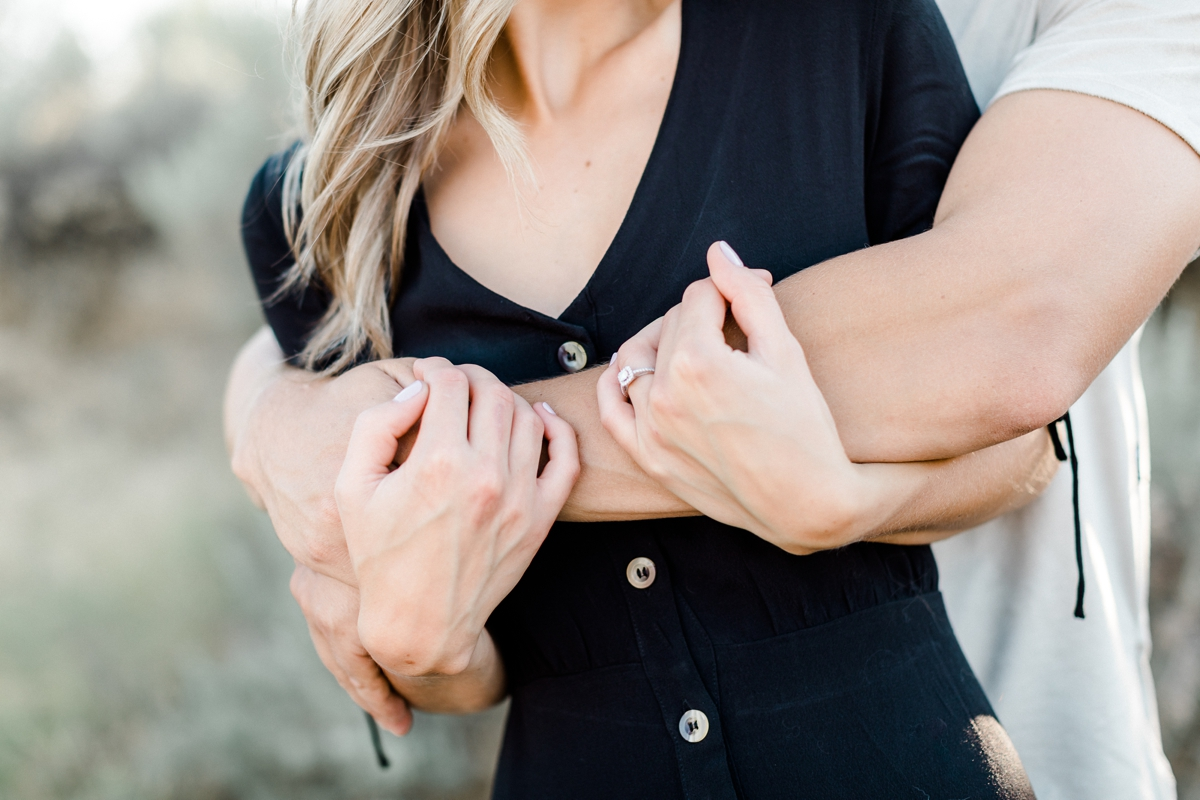 engagement session poses