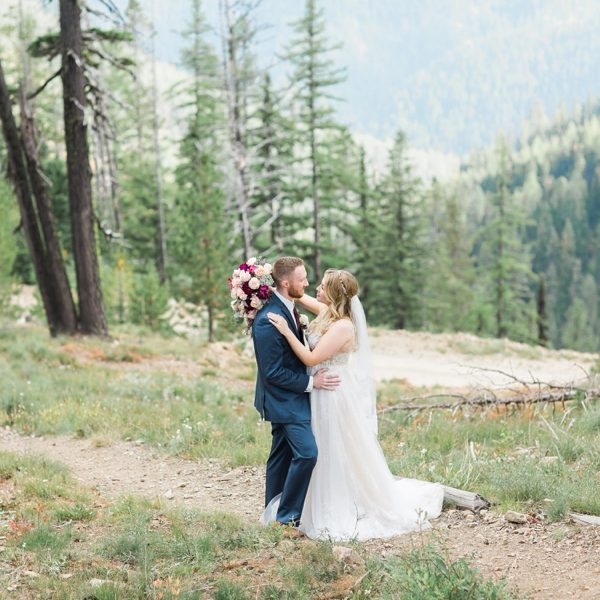 Alyssa & Stefan - Silver Mountain Resort Wedding