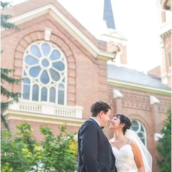 Gonzaga Chapel Wedding
