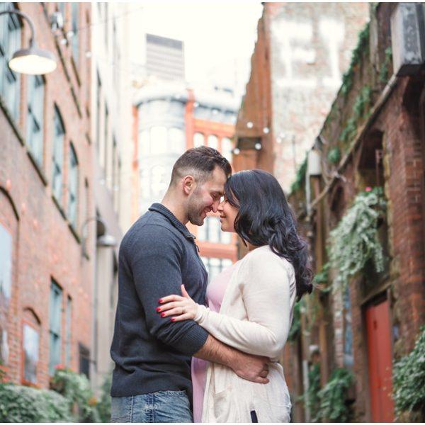 Miso + Corinna Seattle Engagement