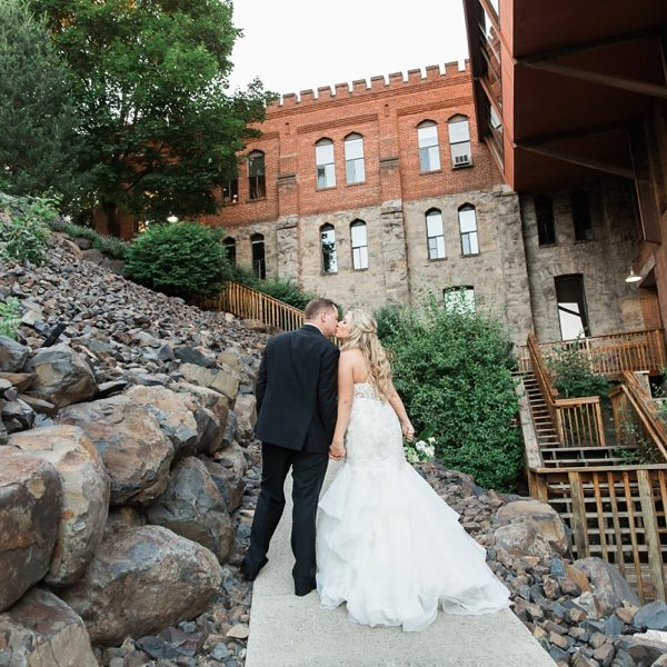 Haley + Nick - Chateau Rive Wedding Spokane, WA