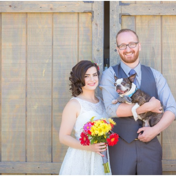 The Barn on Wild Rose Prairie Wedding