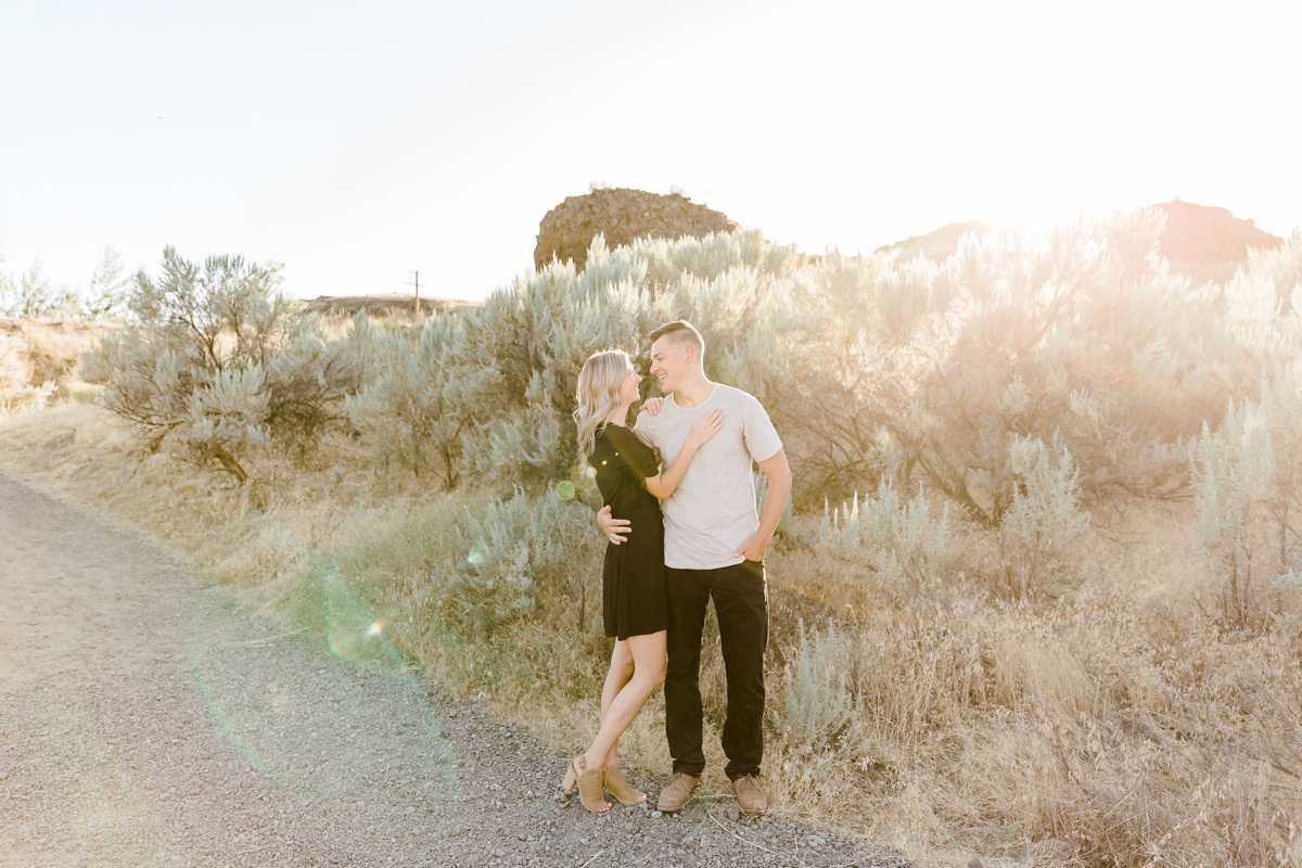 Palouse engagement session