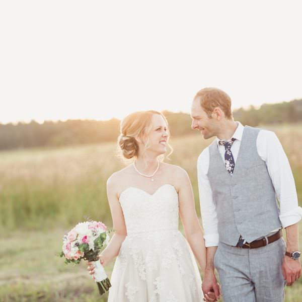 Britney & Chris - Barn on Wild Rose Prairie Wedding